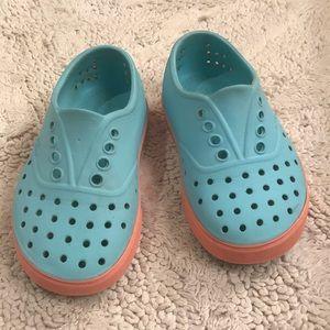 Native kids shoes. CUTE!